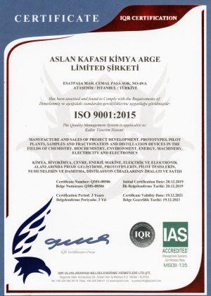 Iso-9001 Belgesi